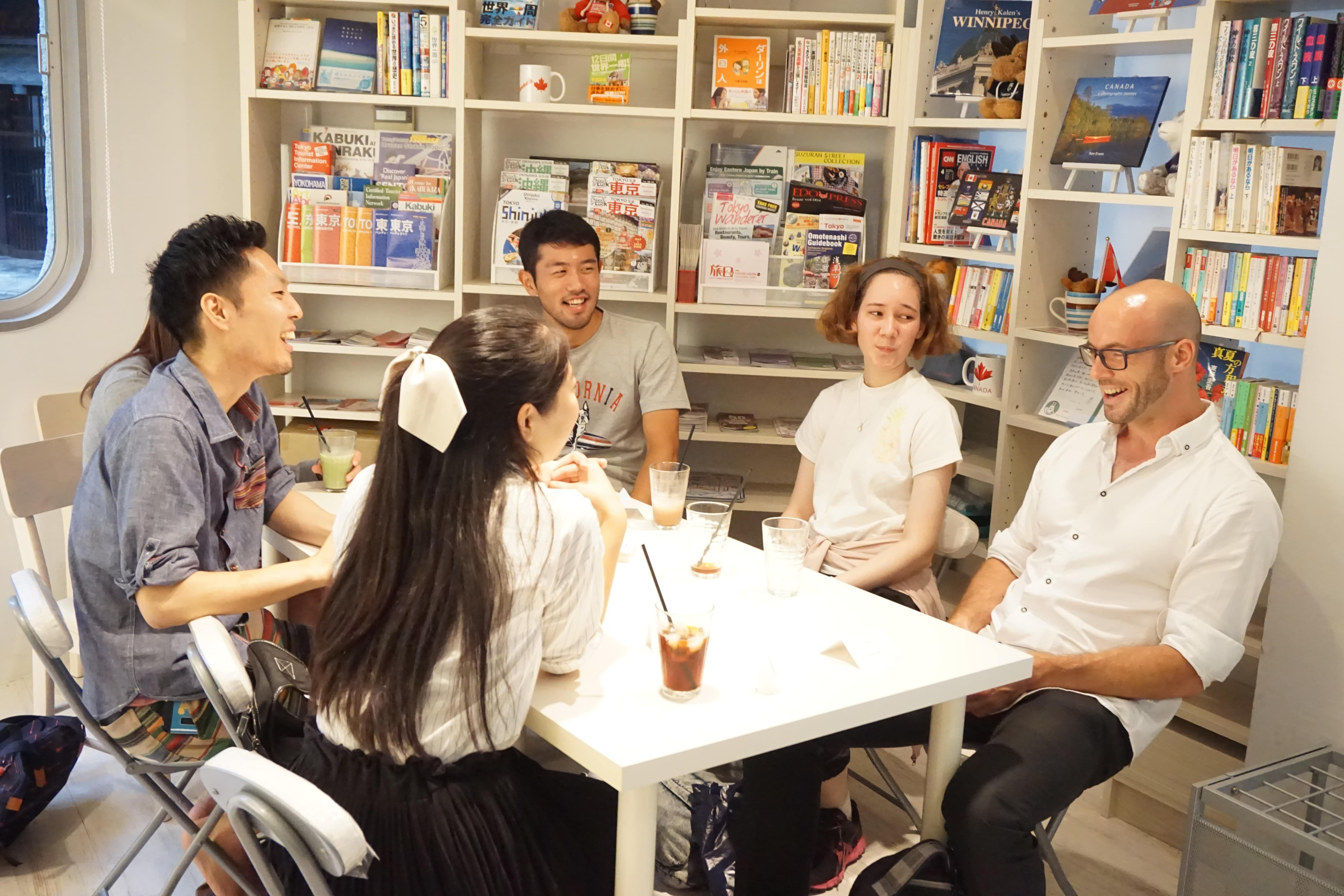 ENGLISH ONLY CAFE = English Communication and International Meetup Cafe